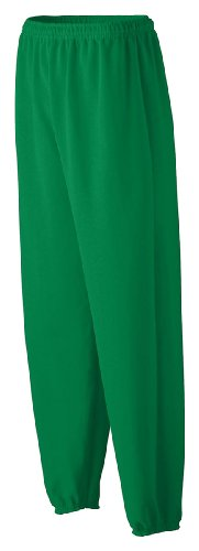 Augusta Sportswear Youth Heavyweight Sweatpant, Kelly, X-Small front-1027849