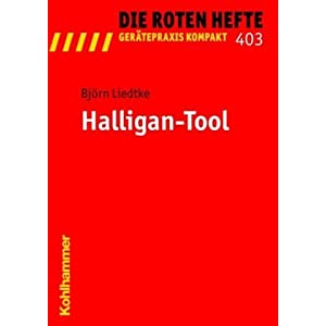 "Titelblatt Rotes Heft ""Halligan-Tool"""