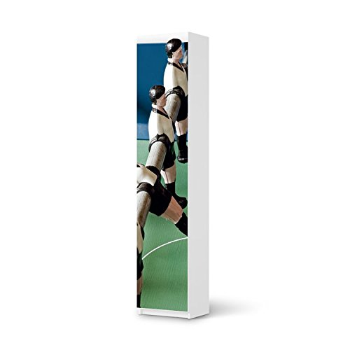 Möbel-Folie IKEA Pax Schrank 236 cm Höhe – 1 Tür / Design Schutz Kicker / blasenfrei aufkleben günstig kaufen