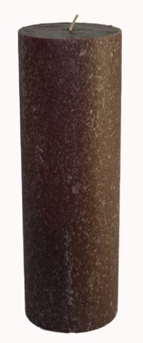Root Candles Scented Timberline Pillar Candle, 3-Inch by 9-Inch Tall, Chocolateness