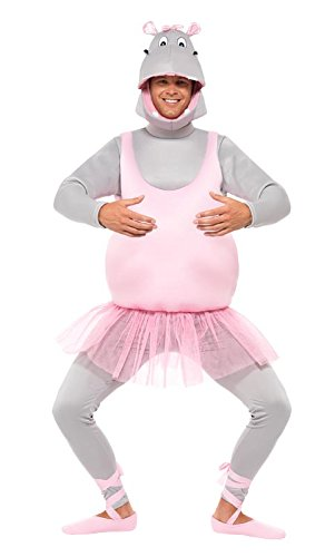 Smiffy's Men's Ballerina Hippo Costume