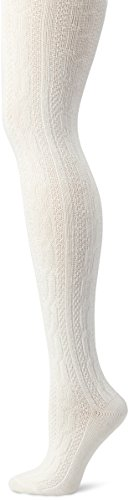 Hue Women's Chunky Cable Knit Tights