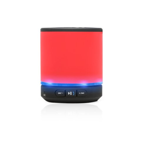 Portable Rechargeable Bluetooth Speaker , Built In Tf Card (Microsd) Reader, Aux In Port, Wireless Speaker For Iphone, Ipad, Ipod, Samsung, Mobile Phones, Tablets Pc, Laptops, Ultrabook & More Devices(With Microphone) (Red)
