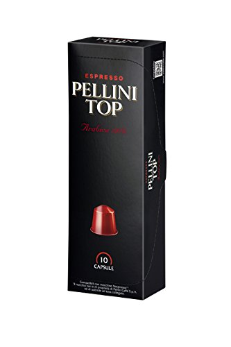 Pellini Top 100 Percent Arabica Nespresso Compatible Capsules (Pack of 2, Total 20)