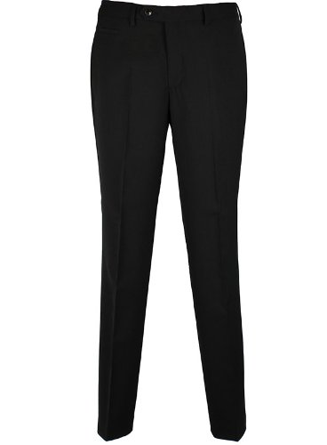 Remus Uomo Mix & Match Green Label Black Suit Trousers - 30 Short