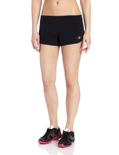 New Balance Women's NBx Minimus Split Shorts, Black, X-Large (New Balance Split Shorts compare prices)