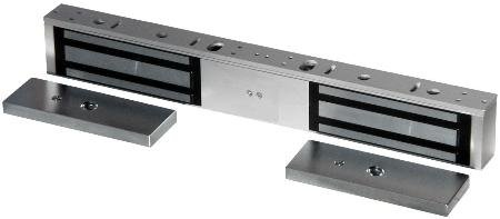 Seco-Larm 600Lb Double-Door Electromagnetic Lock Selectable 12/24 Vdc Operation Rohs Compliant
