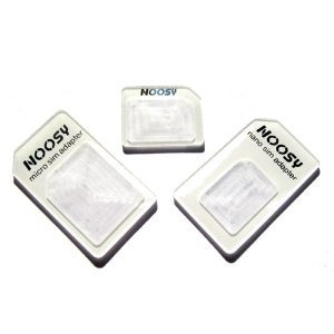 Nano to Micro/Normal SIM Card Adapter for Apple iPhone 5 4S 4G 3GS 3G