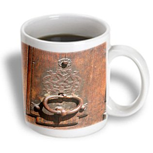 Florene France - Picture Of Centuries Old Door Knocker In Paris France - 11Oz Mug (Mug_62107_1)