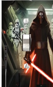 Got You Covered Star Wars Light Switch Cover or Outlet &/or Christmas Stocking Kylo REN with Stromtroopers (1 x Toggle)