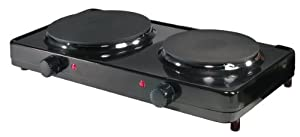 Aroma AHP-312 Double Burner Hot Plate by Aroma