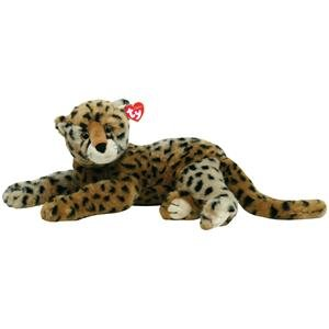 "Ty Stuffed Animal Classics - 21"" Diesel Cheetah Cat front-944693"