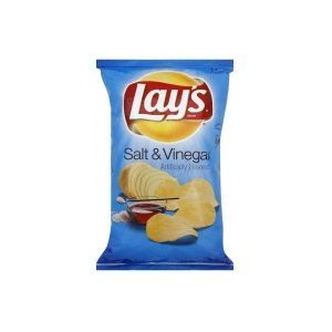 12-bags of Lay's Salt & Vinegar Potato Chips, 40g, 1.41oz, Made in Canada (Lays Canada compare prices)