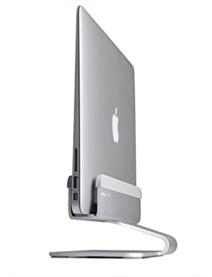 Rain Design 10037 mTower Vertical Laptop Stand (Patented) (Color: Silver)