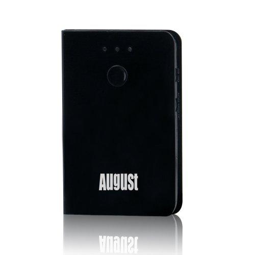 August MR230B Ricevitore Audio Bluetooth per HIFI - Sistema Plug & Play per ascoltare la musica senza fili da tutti apparecchi Bluetooth sugli Amplificatori, Home Theatre, impianti stereo, Altoparlanti portatili o Autoradio