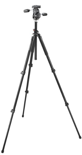Manfrotto 055XPROB Tripod with 808RC4 3-way Head