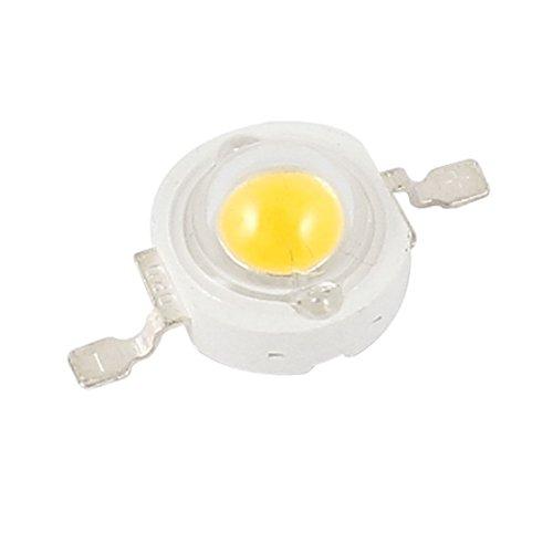 3 Watt Power Warm White Led Light Bulb Bead Emitter 200-220Lm 3.0-3.9V