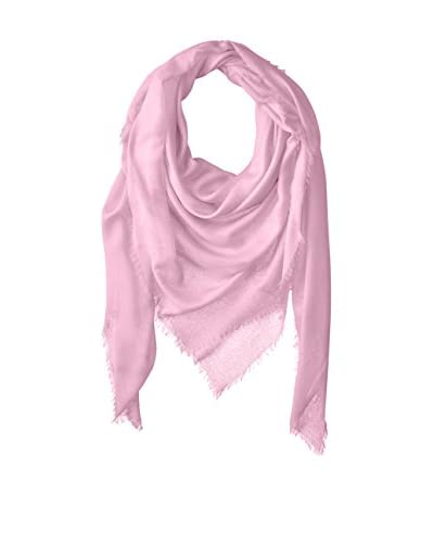 Chan Luu Women's Oversized Cashmere and Modal Scarf, Lavender Fog