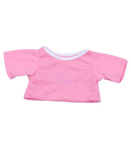 Baby Girl T-Shirt Outfit Teddy Bear Clothes Fit