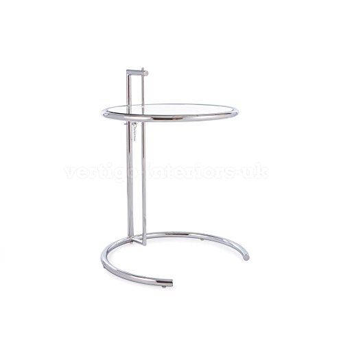 Eileen Gray Style Lounge Bedroom Side Table front-215531