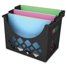Hanging File Holder, 3 Compartments, 9.6\