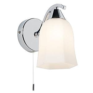 Alonso 1 Light Semi Flush Light