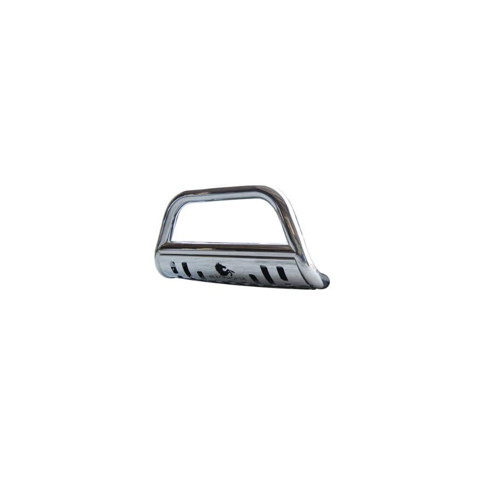 """1997 2001 Honda CR V 2.5"""" Black Horse Off Road Stainless Steel Bull Bar Brush Guard Bull Bar w/Skid Plate Automotive"""