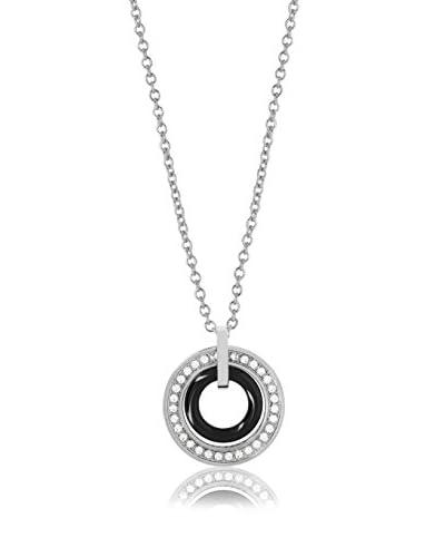 Ceram by Art de France Collana Double Ring [Bianco]