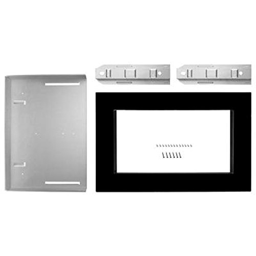 Kitchenaid black built in microwave trim kit home garden dining appliance accessories oven - Kitchenaid microwave with trim kit ...
