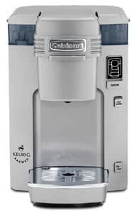 Cuisinart SS-300C Compact Single Serve Brewing System for Keurig K-cups Silver