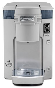 Cuisinart SS-300C Compact Single Serve Brewing System for Keurig K-cups (Silver)
