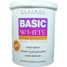 CLAIROL Professional Basic White Extra Strength Powder Lightener 1lb/454g (Cream Developer 40 compare prices)