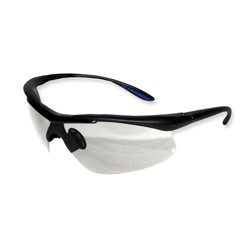 ProWorks EW-C200C Comfort Safety Eyewear Clear Lens Black Frame Conforms to ANSI Z87 1 pair