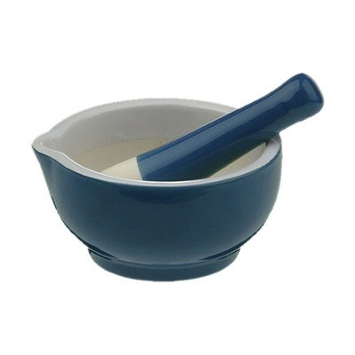 Bia Scoop Pestle and Mortar in Teal