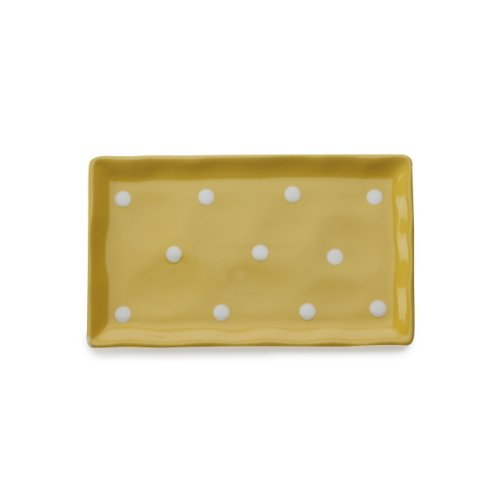 Maxwell and Williams Sprinkle Rectangular Tray, 10-Inch, Yellow (Yellow Tray compare prices)
