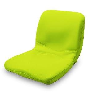 【Amazon.co.jp限定】p!nto 正しい姿勢の習慣用座布団 クッション(pinto)ピント[yellowish green] &  野村寿子先生による「姿勢のはなし」ピントブック付