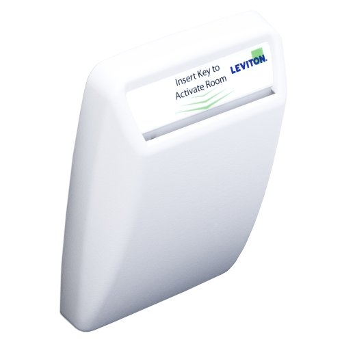 Hotel Key Card Switch, White, WSS0S-H0W