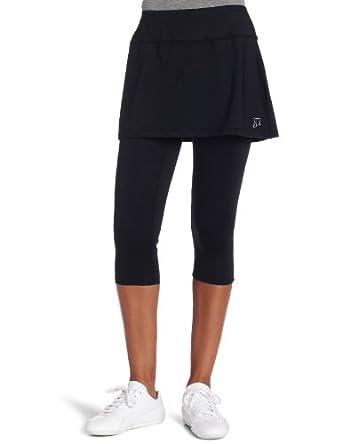 Skirt Sports Women's Lotta Breeze Capri Skirt, Black, X-Small