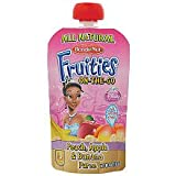 All Natural Disney Fruities On The Go-Tangled- Pear/Mango/Squash Baby Food - 4 Oz. Pouch