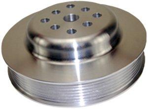 Mota Performance A70384 Billet Aluminum Serpentine Belt Water Pump Pulley