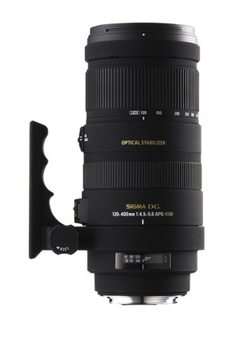 Sigma 120-400mm f4.5-5.6 APO DG OS HSM for Canon Digital and Film SLR Cameras