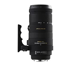Sigma 120-400mm f/4.5-5.6 AF APO DG OS HSM Telephoto Zoom Lens for Canon Digital SLR Cameras