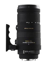 Sigma 120-400 mm F4,5-5,6 DG OS HSM-Objektiv (77 mm Filtergewinde) für Canon Objektivbajonett