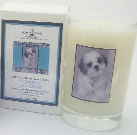 Aroma Paws 223 - Breed Candle Glass Gift Box - Shih Tzu - Vanilla Nutmeg - 5 Oz