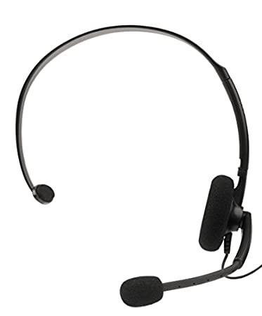 Official Xbox 360 Wired Headset - Black (Xbox 360)