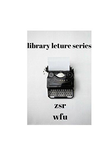 Library Lecture Series: Ed Wilson at ZSR