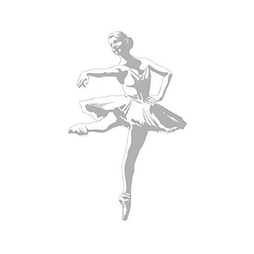 Ballerina Princess - Semi-Transparent Self-Stick Wall Accent Mural/Sticker