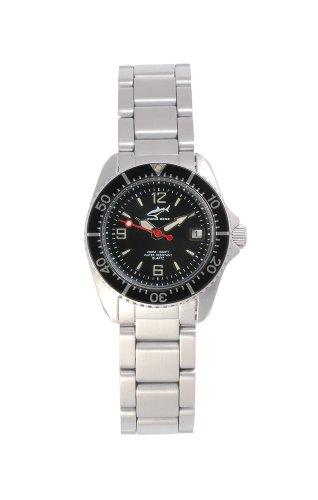 Chris Benz One Lady CBL-S-SW-MB Reloj elegante para mujeres Reloj de Buceo