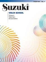 Imagen de Suzuki Violin School Violín Edición Revisada Parte Book Volume 4