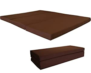 Amazon Brand New Brown Shikibuton Trifold Foam Beds 4
